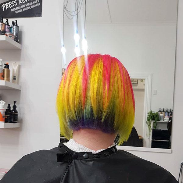 Yellow Short Hairstyles