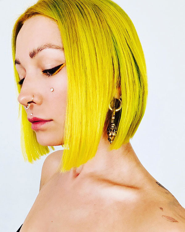 Images Of Short Yellow Hair
