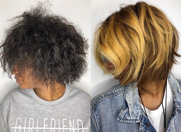 New Hair Color For Short Hair