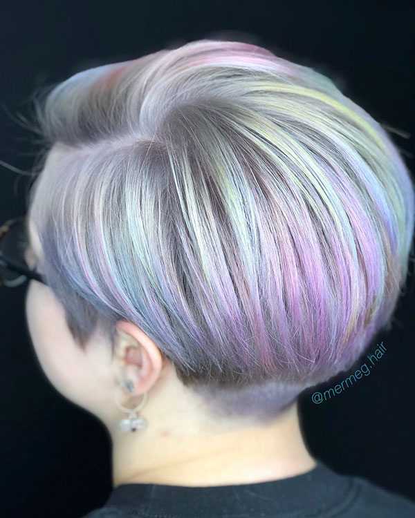 Best Hair Color For Short Hair