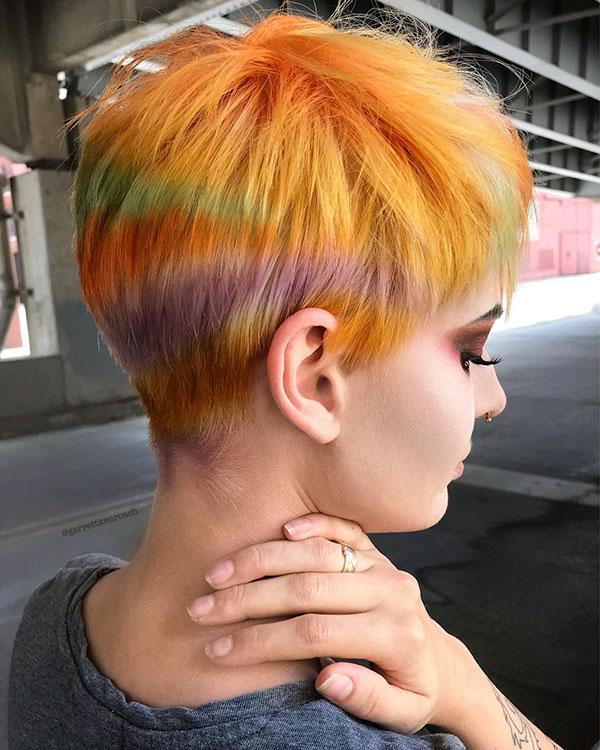 Yellow Hair For Short Hair