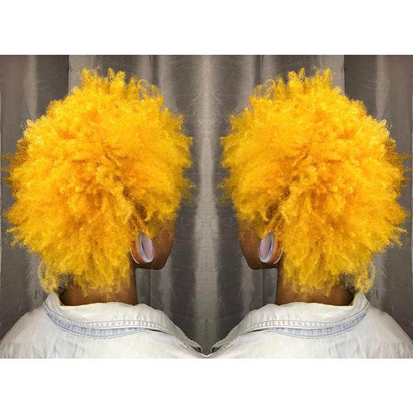 Short Yellow Hair Ideas