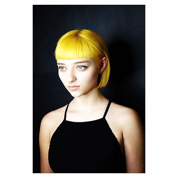 Short Yellow Hair