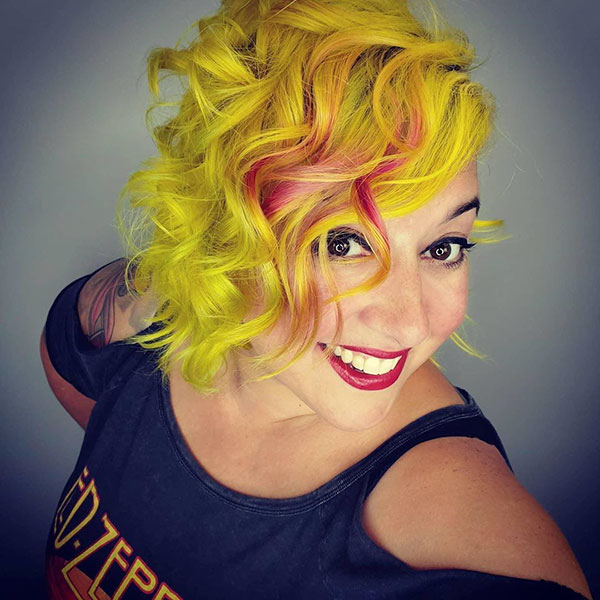 Pictures Of Short Yellow Hair