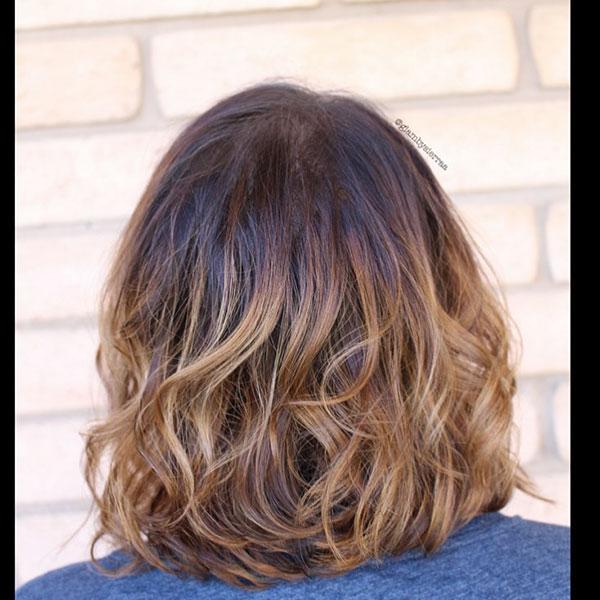 Short Hair And Highlights